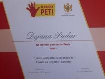 Dejana Pudar, dobitnica nagrade iz Fonda za talente (4)