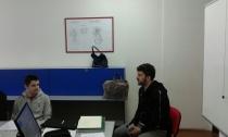 Bozidar Murisic u razgovoru sa ucenicima (3)
