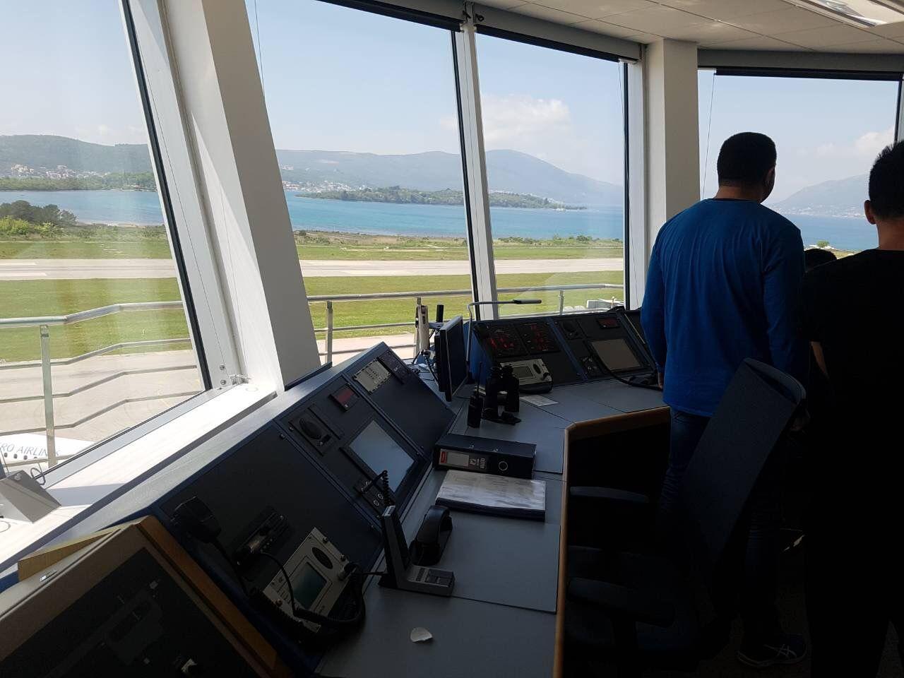 SAC posjetili Aerodrom Tivat (1)