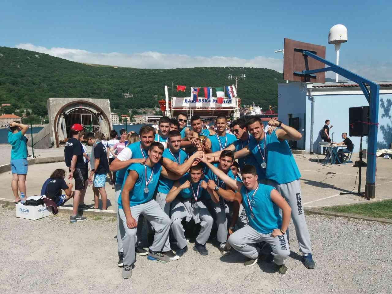 Srebro na medjunarodnoj veslackoj regati, maj 2018 (19)