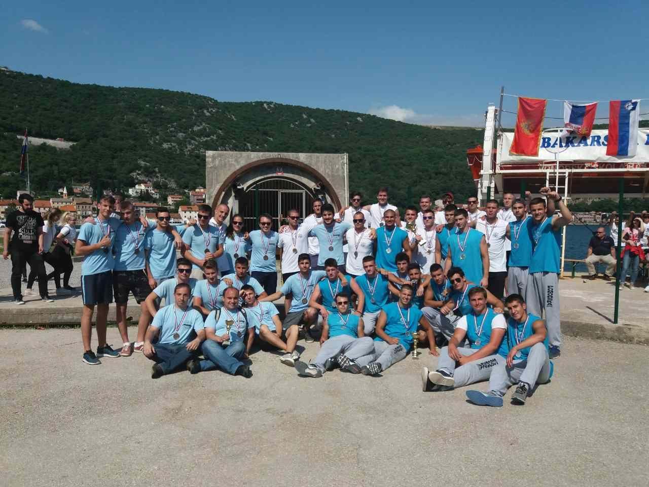 Srebro na medjunarodnoj veslackoj regati, maj 2018 (7)