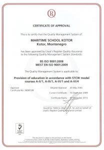sertifikat skole 2009