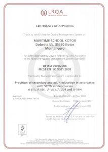 sertifikat skole 2012