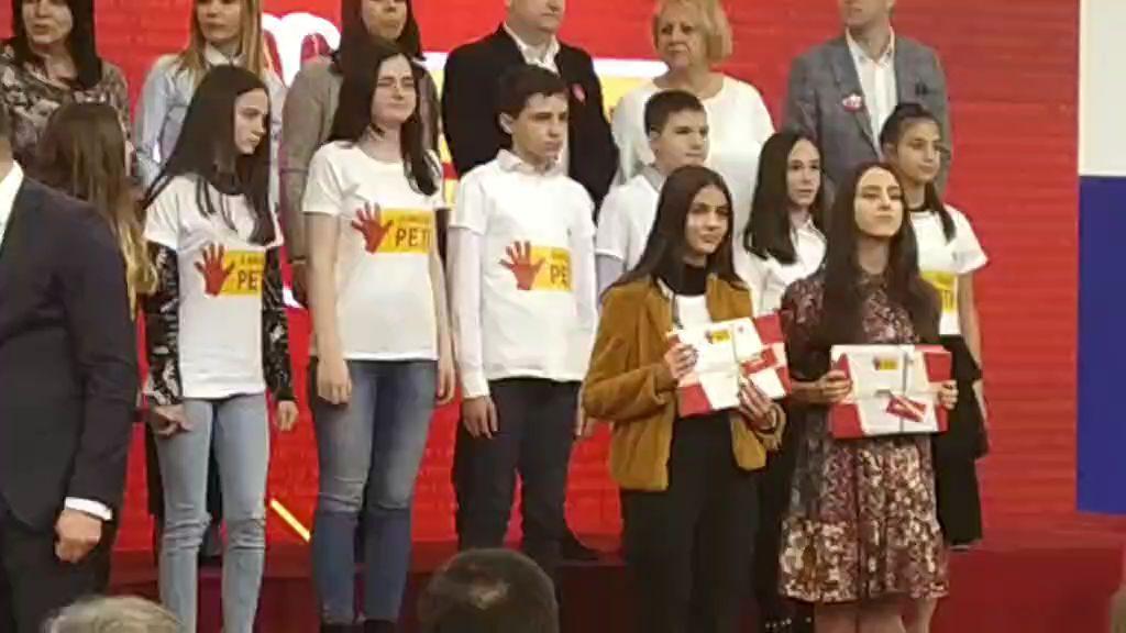 Dejana Pudar, dobitnica nagrade iz Fonda za talente (1)
